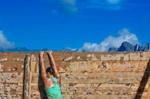 superare ostacolo muro